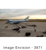 #3871 Carrying Gerald Ford Casket From Plane