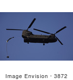#3872 Ch-47 Chinook Helicopter