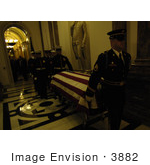 #3882 Carrying Gerald Ford Casket