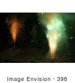 #398 Image of a Pit Bull Excited by Holiday Fireworks by Jamie Voetsch