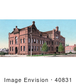 #40831 Stock Photo Of The Throop Polytechnic Institute Building Now Known As Caltech And Also Previosly Called Throop University Throop College Of Technology Pasadena California