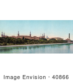 #40866 Stock Photo Of The Tampa Bay Hotel Now The Henry B Plant Museum On The Hillsborough River In Tampa Bay Florida