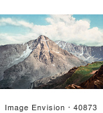 #40873 Stock Photo Of A View Of The Mount Of The Holy Cross In The Sawatch Range Rocky Mountains Colorado
