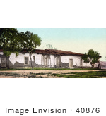 #40876 Stock Photo Of The Old Adobe House Falling Apart Ramona'S Marriage Place San Diego California