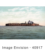 #40917 Stock Photo Of Fort Sumter In Charleston South Carolina