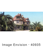 #40935 Stock Photo Of The Beautiful Old House Of Mr Albert K Smiley In Redlands California