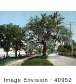 #40952 Stock Photo Of People Enjoying The Weather On The Coast At Bay Saint Louis Mississippi
