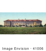 #41006 Stock Photo Of The Building Of Encina Hall At Leland Standford Junior University California