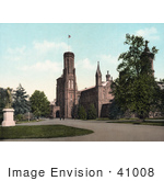 #41008 Stock Photo Of The Smithsonian Institution Building In Washington Dc