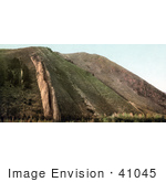 #41045 Stock Photo Of The Devil'S Slide Geological Rock Formation Of Weber Canyon Utah
