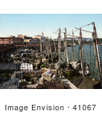 #41067 Stock Photo Of Fishing Boats And Supplies On The Muelle San Francisco Havana Cuba
