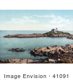 #41091 Stock Photo Of Cape Neddick Lighthouse In York Maine