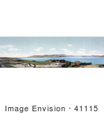 #41115 Stock Photo Of A Panoramic View Of Mount Tamalpais And The Golden Gate San Francisco California