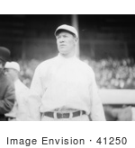 #41250 Stock Photo Of Jim Thorpe In His Giants Uniform Looking Off To The Side At Polo Grounds New York