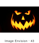 #43 Picture Of A Halloween Pumpkin Carving