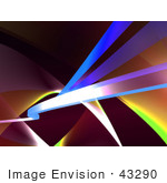#43290 Royalty-Free (Rf) Illustration Of An Abstract Swoosh Background - Version 7
