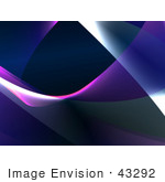#43292 Royalty-Free (Rf) Illustration Of An Abstract Swoosh Background - Version 2