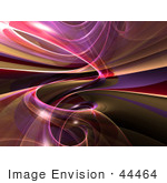 #44464 Royalty-Free (Rf) Illustration Of A Reflective Purple Spiral Background - Version 1