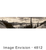 #4812 Crater Lake In 1913
