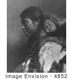 #4852 Eskimo Mother And Child