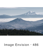#486 Picture Of Mountains Near Mount Ashland In Oregon