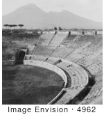#4962 Amphitheater At Pompeii