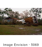 #5069 Stock Photography Of Homes Destroyed By Hurricane Hugo In Charleston South Carolina