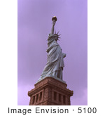 #5100 Stock Photography Of The United States Statue Of Liberty