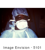 #5101 Stock Photography Of A Zairian Nurse Prepared To Enter An Ebola Vhf Isolation Ward During The A 1995 Outbreak In Kikwit Zaire