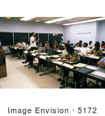#5172 Picture Of Students At A 1970'S International Epidemiologists And Health Administrators Course