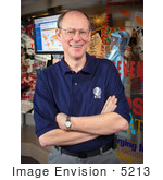 #5213 Picture of Douglas Hamilton, Director of the Epidemic Intelligence Service (EIS) Program by JVPD