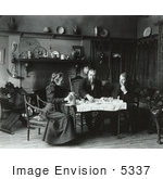 #5337 Frances Benjamin Johnston Tea Party