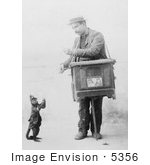 #5356 Organ Grinder and Monkey by JVPD