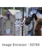 #53765 Royalty-Free Stock Photo Of A Jousting Rings