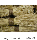 #53779 Royalty-Free Stock Photo Of Rolls Of Wheat