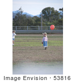 #53816 Royalty-Free Stock Photo Of Children In A Field