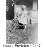 #5447 Elizabeth Hughes On Bike