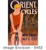 #5452 Orient Cycles Advertisement