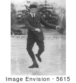 #5615 Irving Brokaw Dancing On Ice