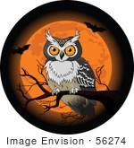 Clip Art Halloween Owl