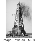#5680 Oil Well, Oklahoma by JVPD
