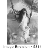 #5814 Woman In Negligee