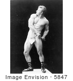 #5847 Eugen Sandow in Pose by JVPD