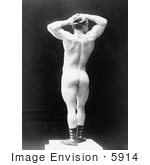 #5914 Eugen Sandow in Pose by JVPD
