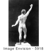 #5918 Eugen Sandow Rear View