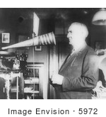#5972 President Harding Recording His Voice