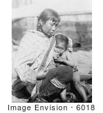 #6018 Inuit Eskimo Mother Breast Feeding by JVPD