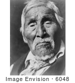 #6048 Karok Native American Man