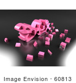 #60813 Royalty-Free (Rf) Illustration Of Particles Around The 3d Word Sex - Version 2