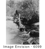 #6099 Miwok Spear Fishing by JVPD